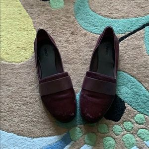 Vince Calf hair Loafers